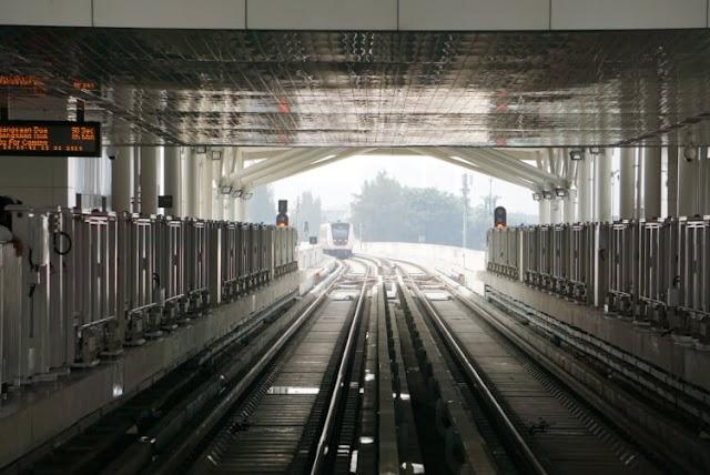 Begini Caranya Naik LRT Jakarta