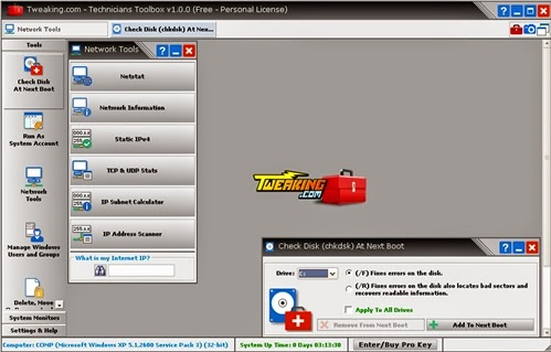 Technicians Toolbox Portable 1.1.0 portable applications