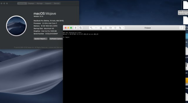 A Portal to a Portal: VMware Fusion and macOS Mojave