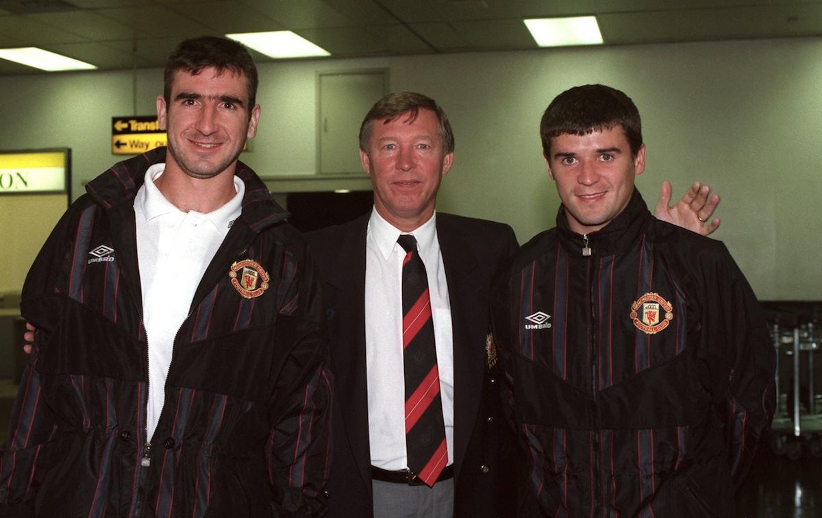 The french, he retired with. TotalBall: Cantona - Ferguson - Keane