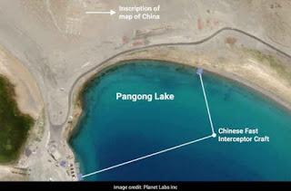 पैंगोंग झील के साथ फिंगर्स एरिया से अधूरी चीनी निकासी: सैटेलाइट पिक्स