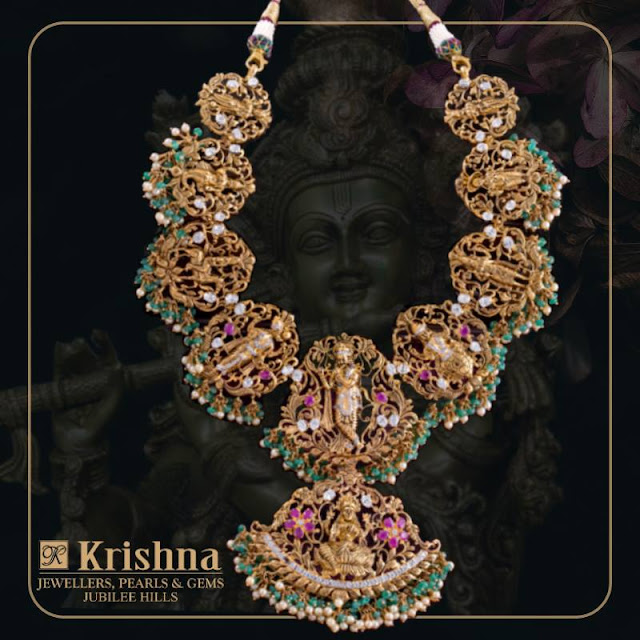 Exclusive Temple sets by Krishna Jewellers