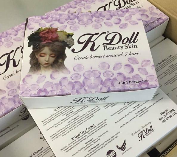 k doll beauty skin murah