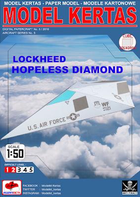 Image of 1/50 Lockheed Hopeless Diamond Stealth