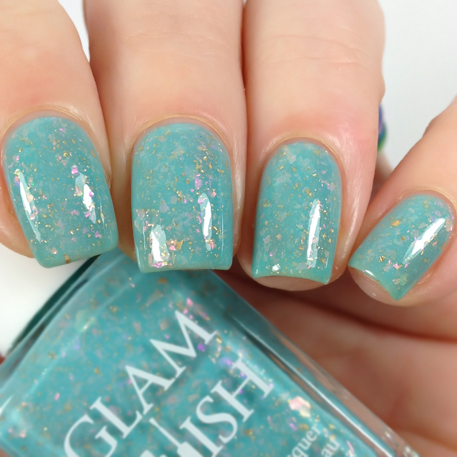 Glam Polish-Don't You Want To Go To Paris? See The Opera?