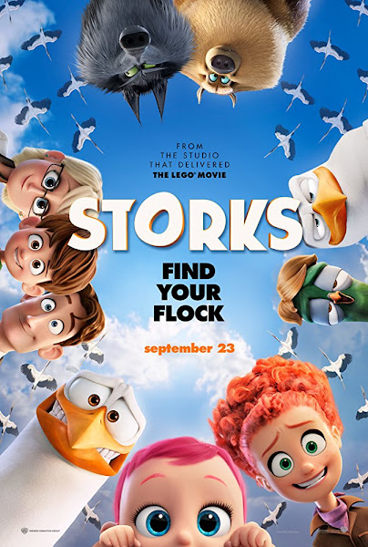 Poster of Storks (2016) Full Movie [English-DD5.1] 720p BluRay ESubs Download