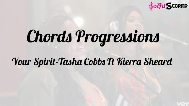 Chords Progressions: Your Spirit-Tasha Cobbs Ft Kierra Sheard