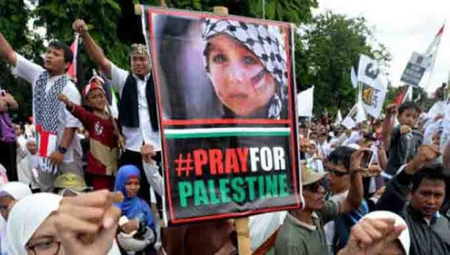Aksi Bela Palestina, Ketua MUI KH Ma'ruf Amin Serukan Massa Boikot Amerika