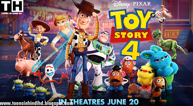 Toy Story 4 Full Movie In HINDI [HD 720p] 2019 Free Download