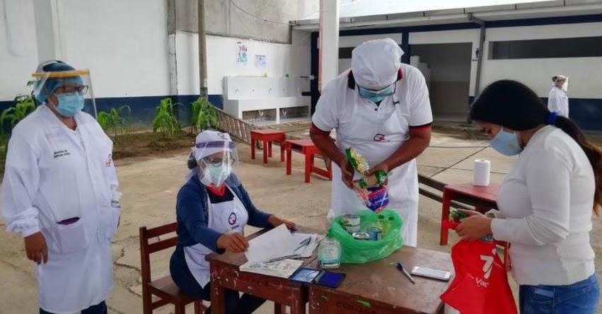 QALI WARMA: Comités de Alimentación Escolar de la región San Martín, entregan alimentos variados y saludables a padres de familia - www.qaliwarma.gob.pe