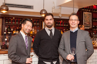 From left to right: Roger Maniwa, Nicolas Charron-Boucher and Joshua Corea