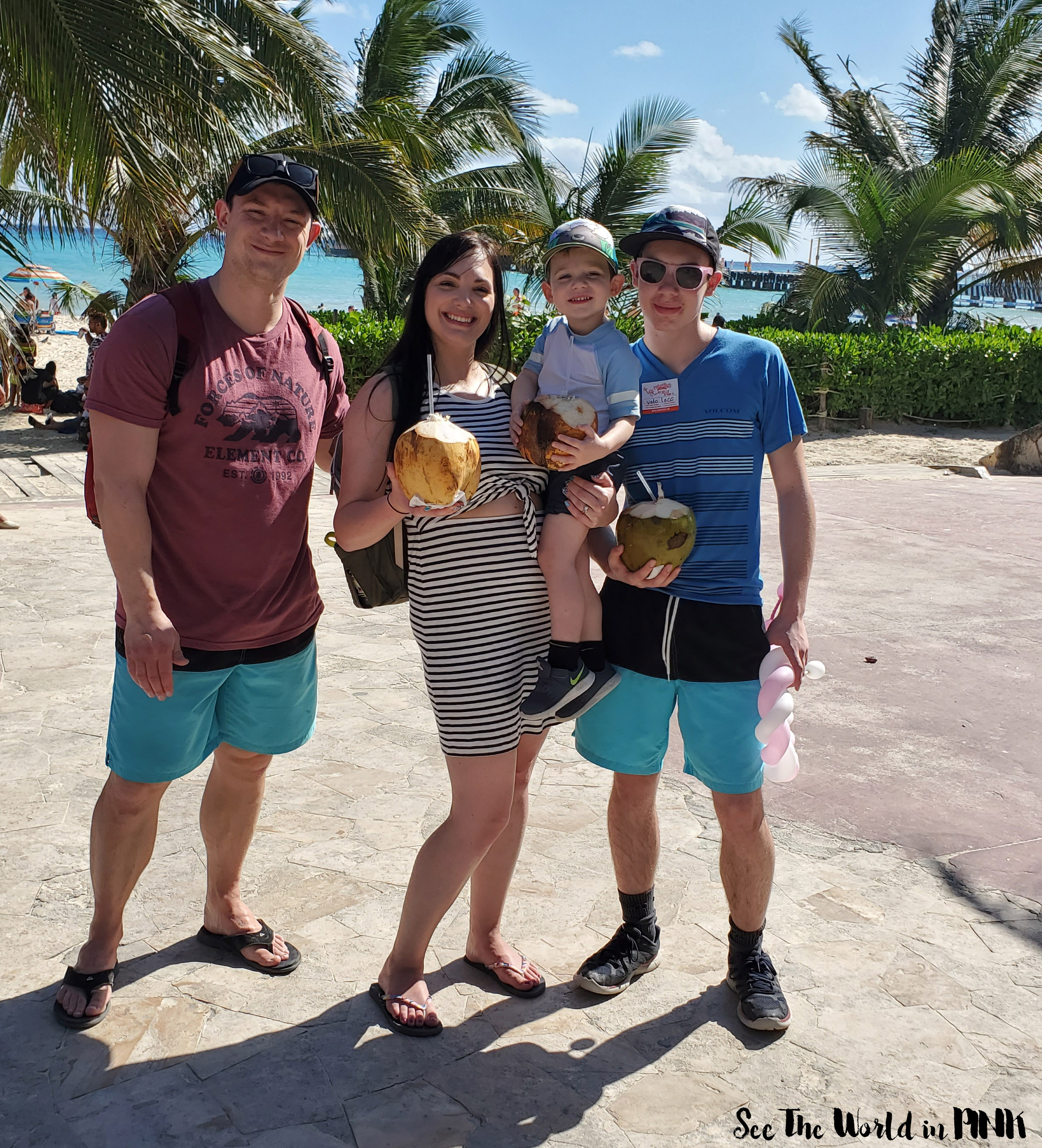 Travel Post - Playa Del Carmen Mexico with a Big Group and Toddlers!