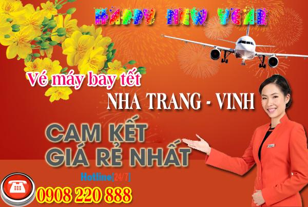 Vé máy bay tết Nha Trang đi Vinh 2018