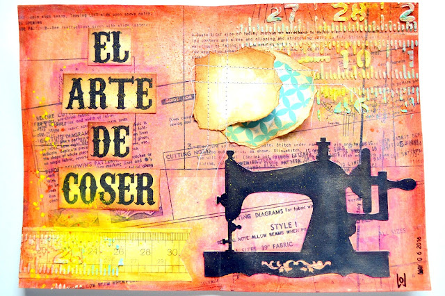 art journal el arte de coser
