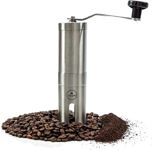 EZE Homegoods Hand Coffee Mill Grinder