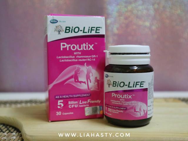 Suplemen Proutix™ untuk kesihatan wanita dari BiO-LiFE