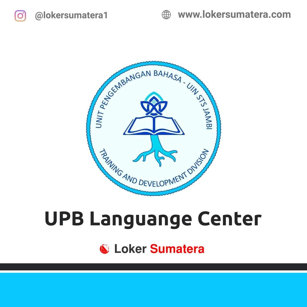 Lowongan Kerja Jambi: UPB Languange Center Agustus 2020