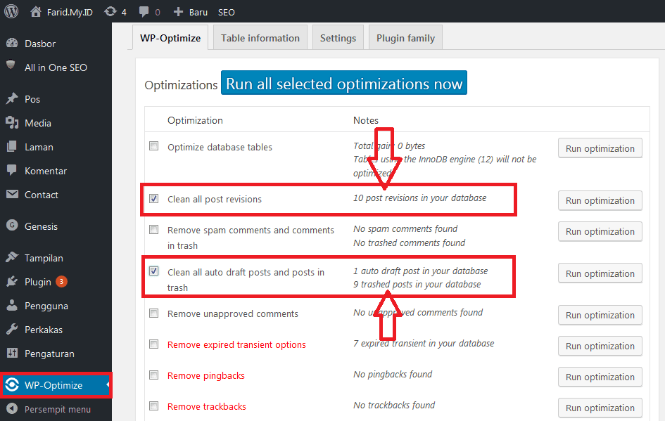 Cara Disable Post Revisions dan Autosave di WordPress