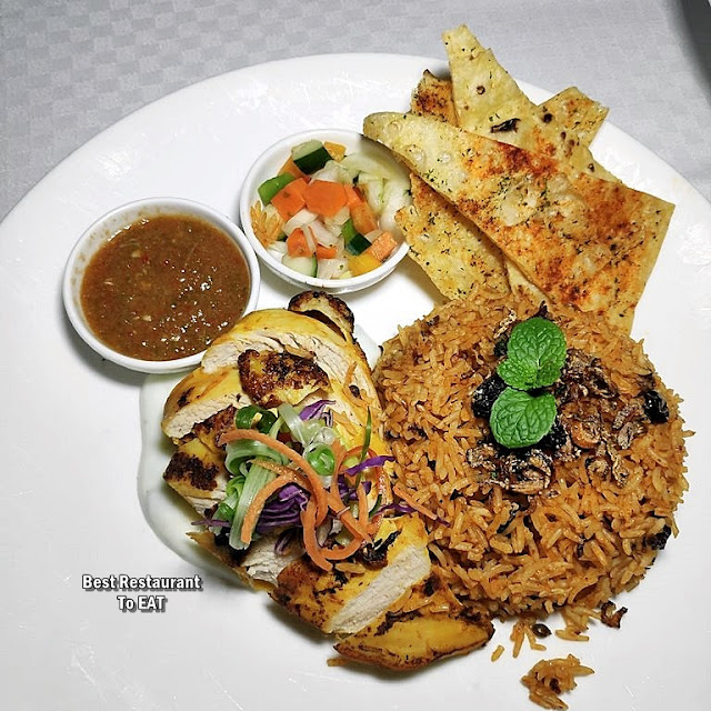 The Club @ G Tower Hotel New Menu - Briyani Chicken Tikka