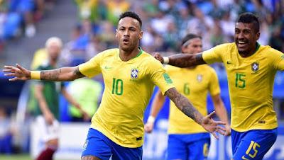 MUNDIAL 2018: BRASIL 2 MÉXICO 0 - BÉLGICA 3 JAPÓN 2