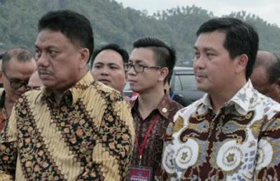 Gubernur Sulut, Olly Dondokambey dan Wagub, Steven Kandouw
