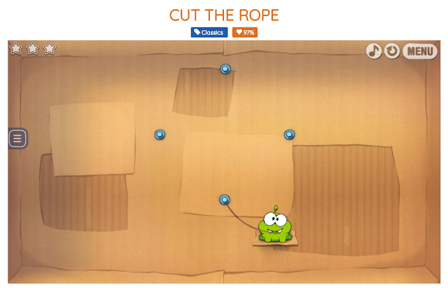 Cut the rope gaming