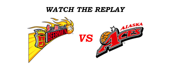 List of Replay Videos SMB vs Alaska @ Smart Araneta Coliseum December 3, 2016