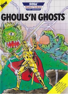 Retrogame online gratis Ghouls N Ghosts Master System
