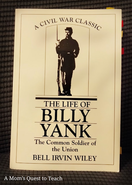 book cover of The Life of Billy Yank