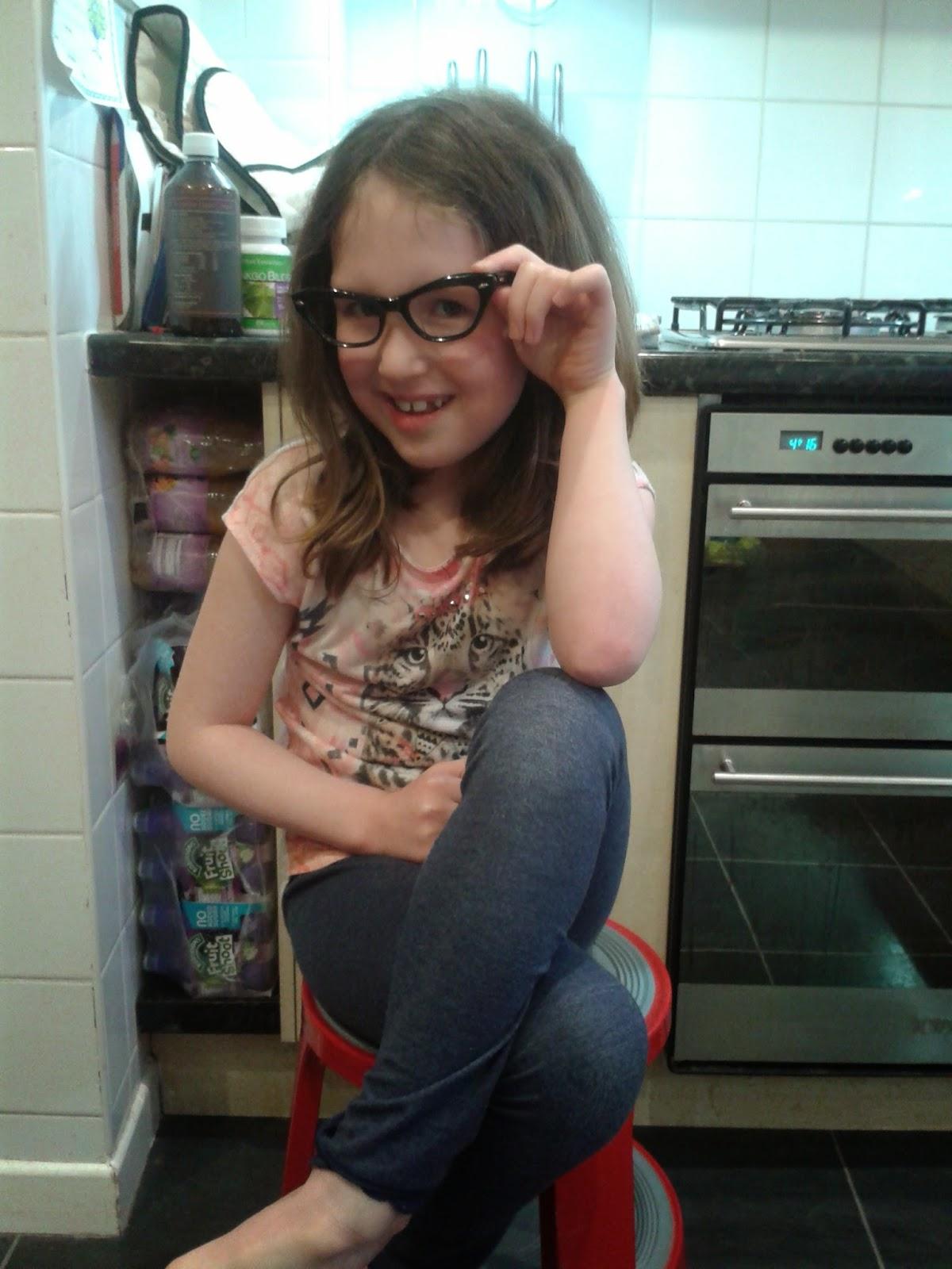 Caitlin being mum