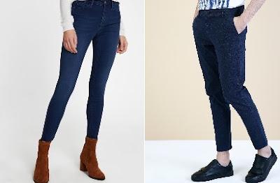 bayan bay lacivert pantolon üzerine ne giyilir