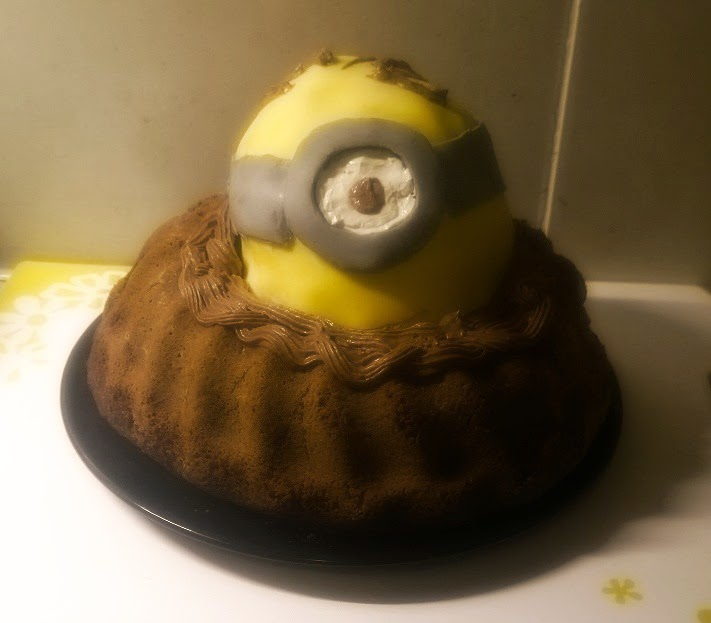 Miniontorte, Minionkuchen, Minioncupcake, Minionmuffins, Minion, Minioncake, Miniontarte, Minionpie