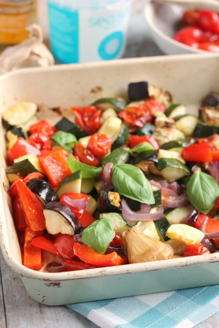 Close up of Easy Ratatouille