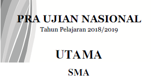 Kumpulan Soal Dan Kunci Pra Un Sma Semua Mapel Provinsi Sumatera Barat Catatan Kimia