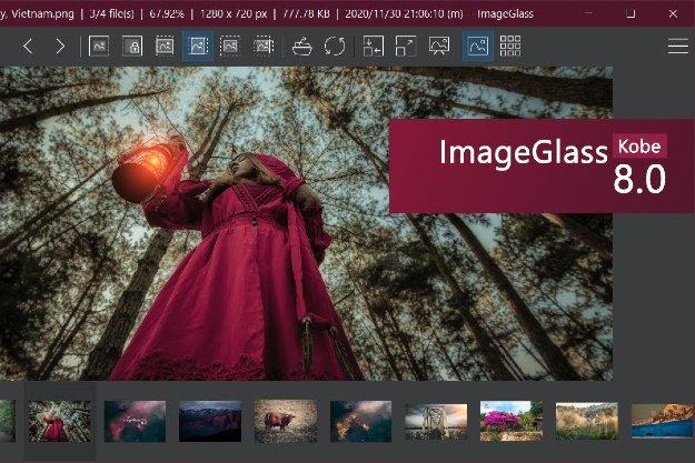 πρόγραμμα προβολής φωτογραφιών για Windows EXIF, RAW, SVG