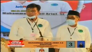 Pasangan M Fadhil Arief - Bakhtiar Harapan Masyarakat Untuk Batanghari ke Depan