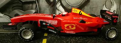 Fórmula 1 Openslot rojo