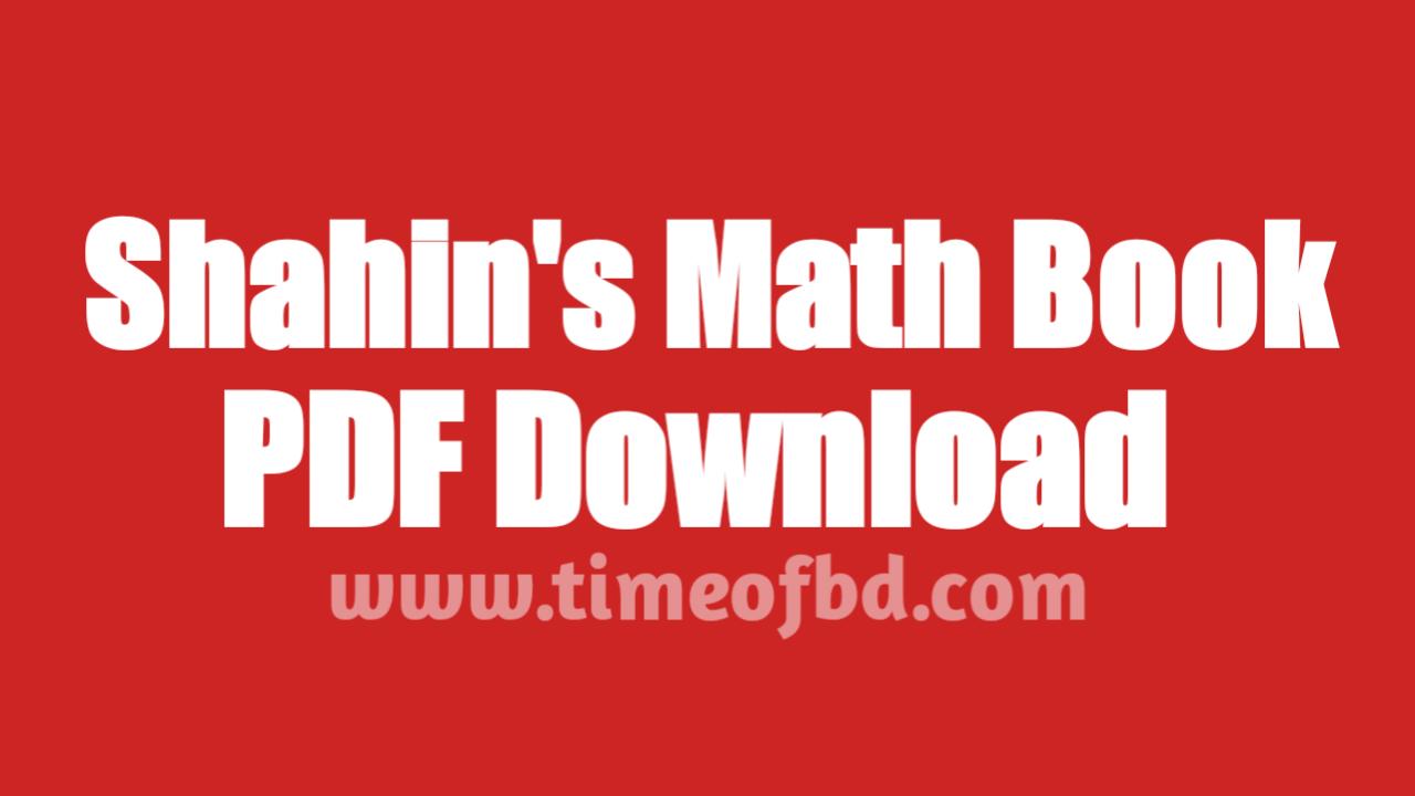 shahin's math pdf download, shahin's math book pdf, shahin's math pdf part 3, Shahin's math pdf part 4
