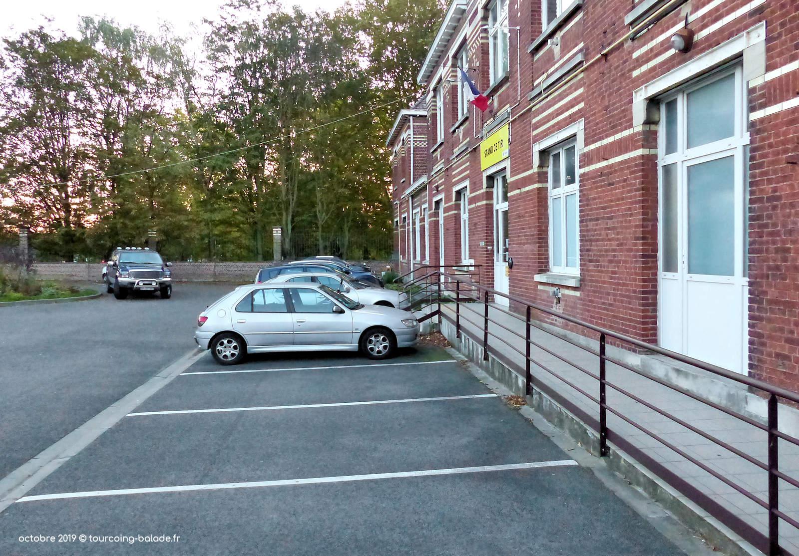 Stand de Tir, Tourcoing - Parking intérieur.