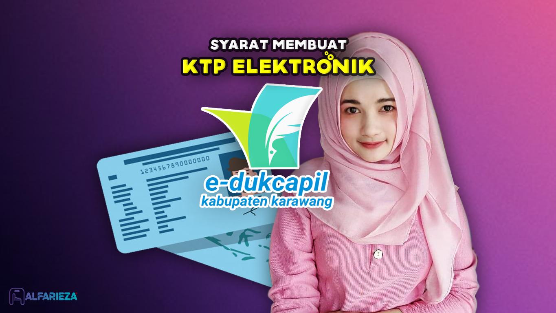 Syarat-Membuat-KTP-Elektronik