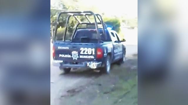Increíble escape de policías siendo atacados por sicarios