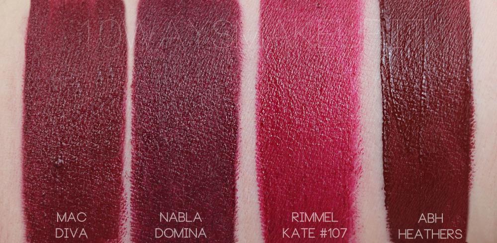 La mia collezione di rossetti mac swatch comparazioni 10 ways to wear makeup - Rossetto mac diva ...