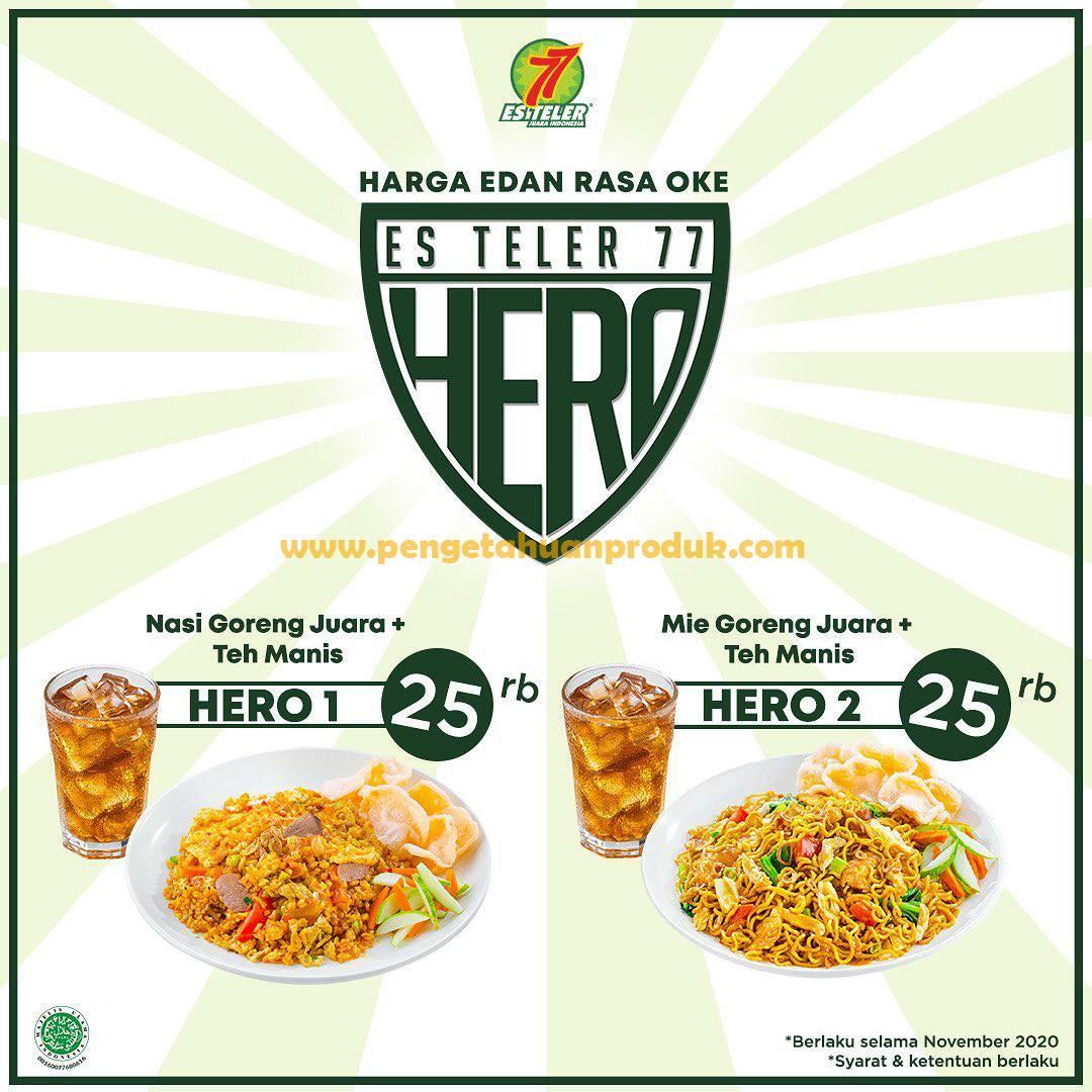 Promo Es Teler 77 Paket Hemat HERO Harga Edan Rasa Oke*