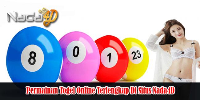 Permainan Togel Online Terlengkap Di Situs Nada4D