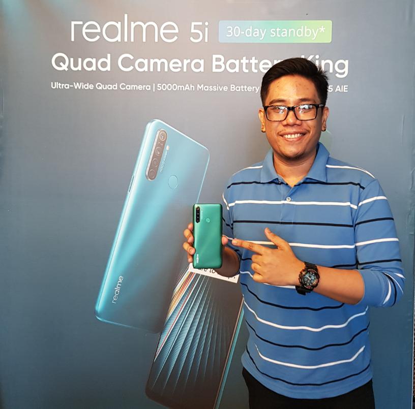 Mark Milan Macanas, Realme 5i Launch Philippines