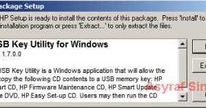 windows usb key utility