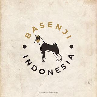 Desain Logo Basenji Indonesia