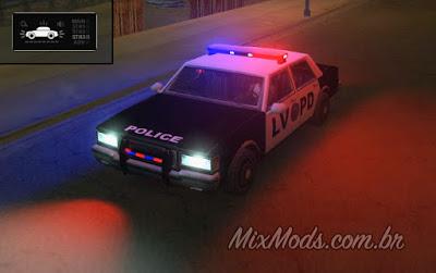 gta sa san mod emergency lights mod cop police polícia samp