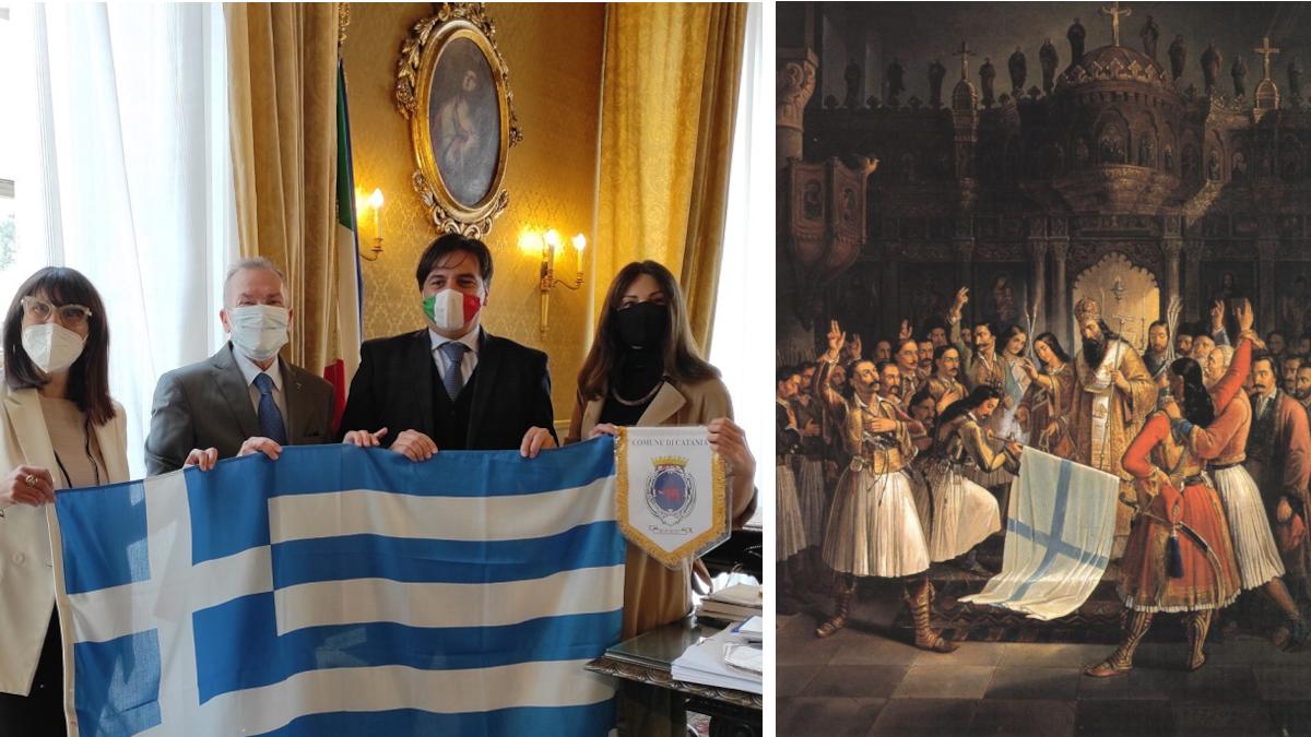 bicentenario rivoluzione Grecia Comune di Catania