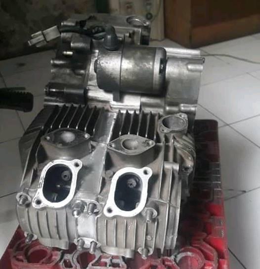 Modifikasi Supra X 125 Pakai Mesin 2 silinder, Wani Yeuh !!!